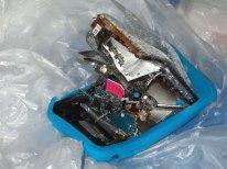 iPhone esploso in Olanda (foto iPhoneclub Nederland)