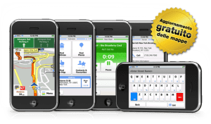 aggiornamento mappe e software per iGO My Way per iPhone