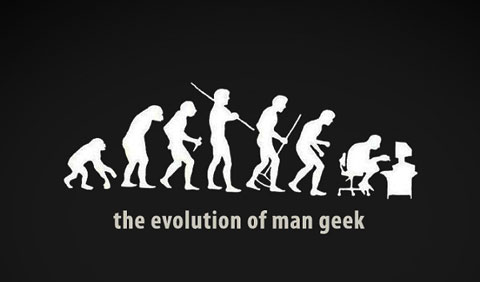 Evolution of the Geek by Zyrus86