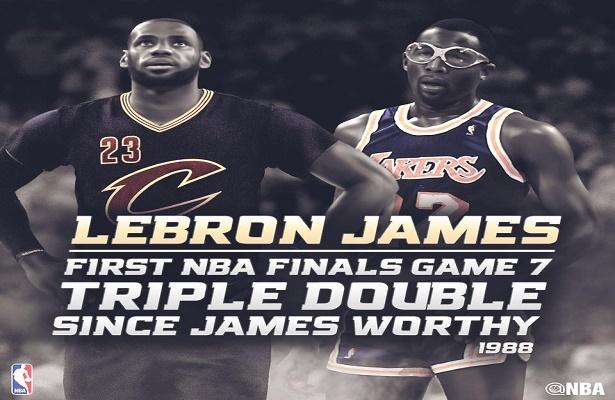 Replay: NBA Finals Game 7 Cavs vs Warriors-4q