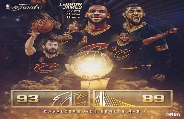 Replay: NBA Finals Game 7 Cavs vs Warriors
