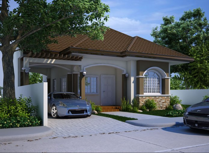 Small house design 2013004 pinoy eplans modern house for Eplans modern homes