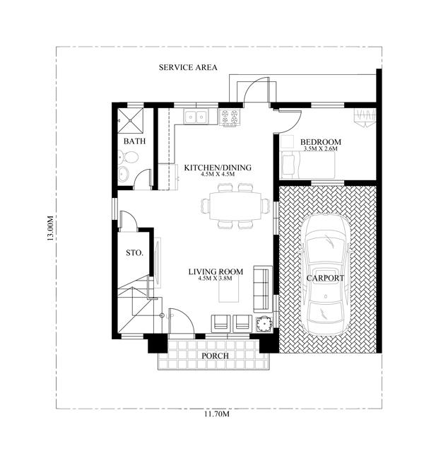 2 Storey Modern House Designs In The Philippines: Modern House Design Series: MHD-2014014