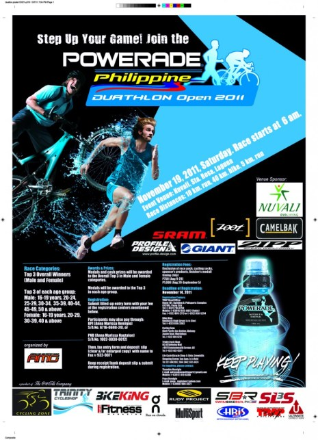 powerade-duathlon-2011-leg3-poster