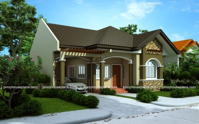 Bungalow house designs series, PHP-2015016