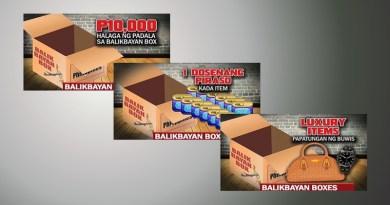 Items prohibited inside balikbayan box
