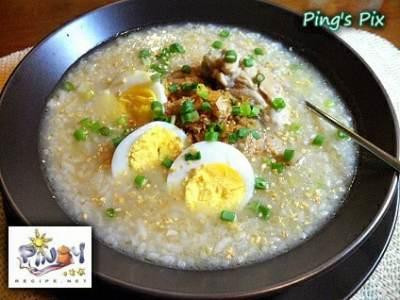 Arroz Caldo Recipe by PinoyRecipe.net
