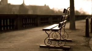 Empty-Bench-in-the-Street