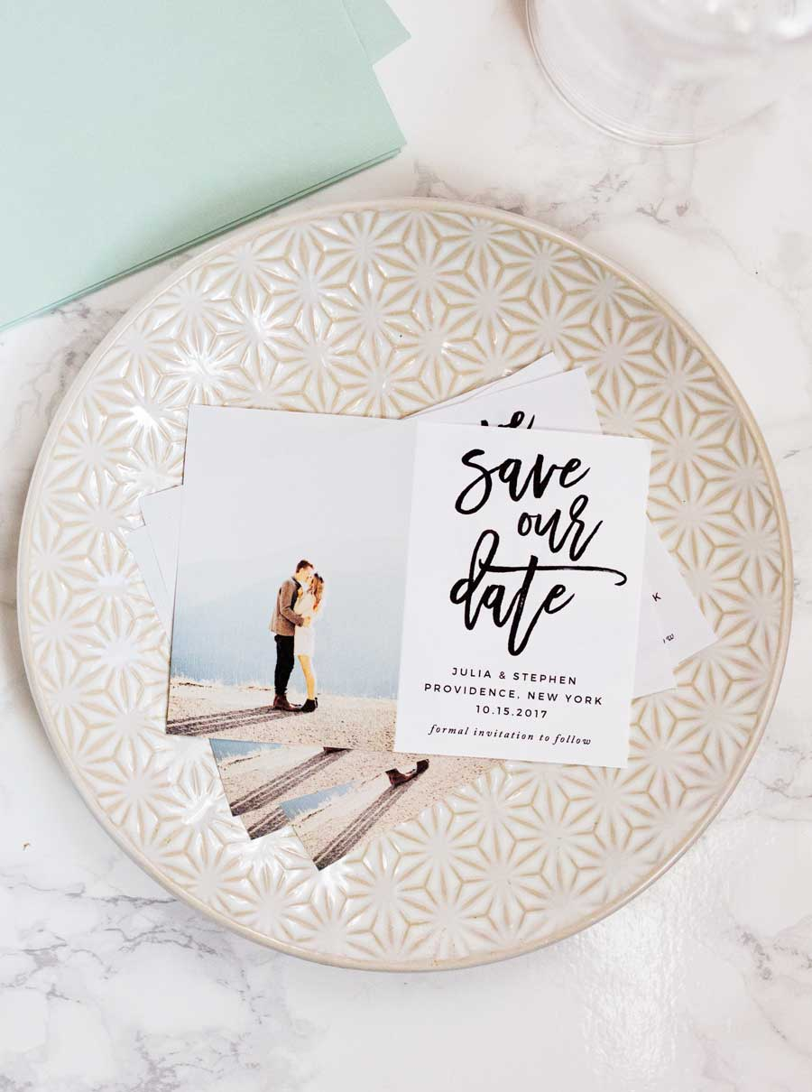 Fullsize Of Save The Date Magnet