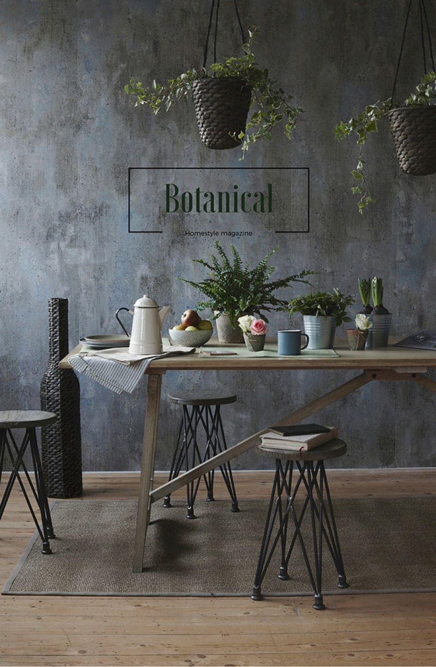 Botanical dining for Homestyle magazine