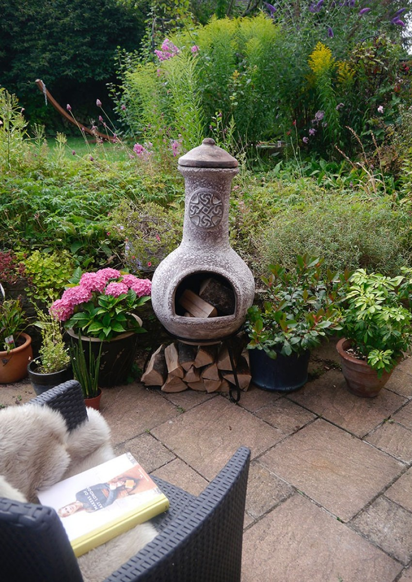 My Gardeco chiminea