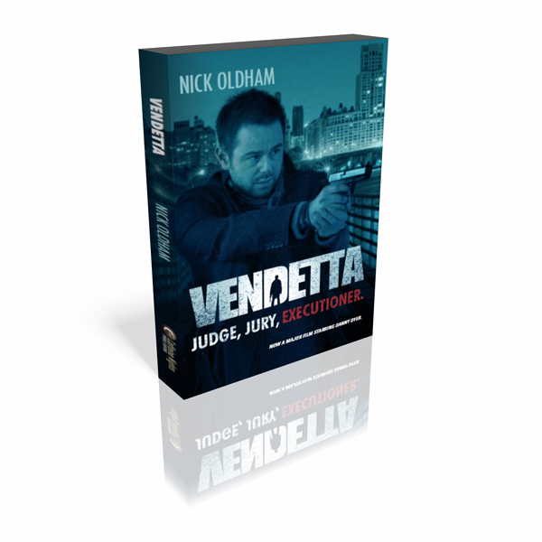 Vendetta Pack shot Publisher Caffeine Nights and Richwater Films Extend Book Tie up with Three New Titles