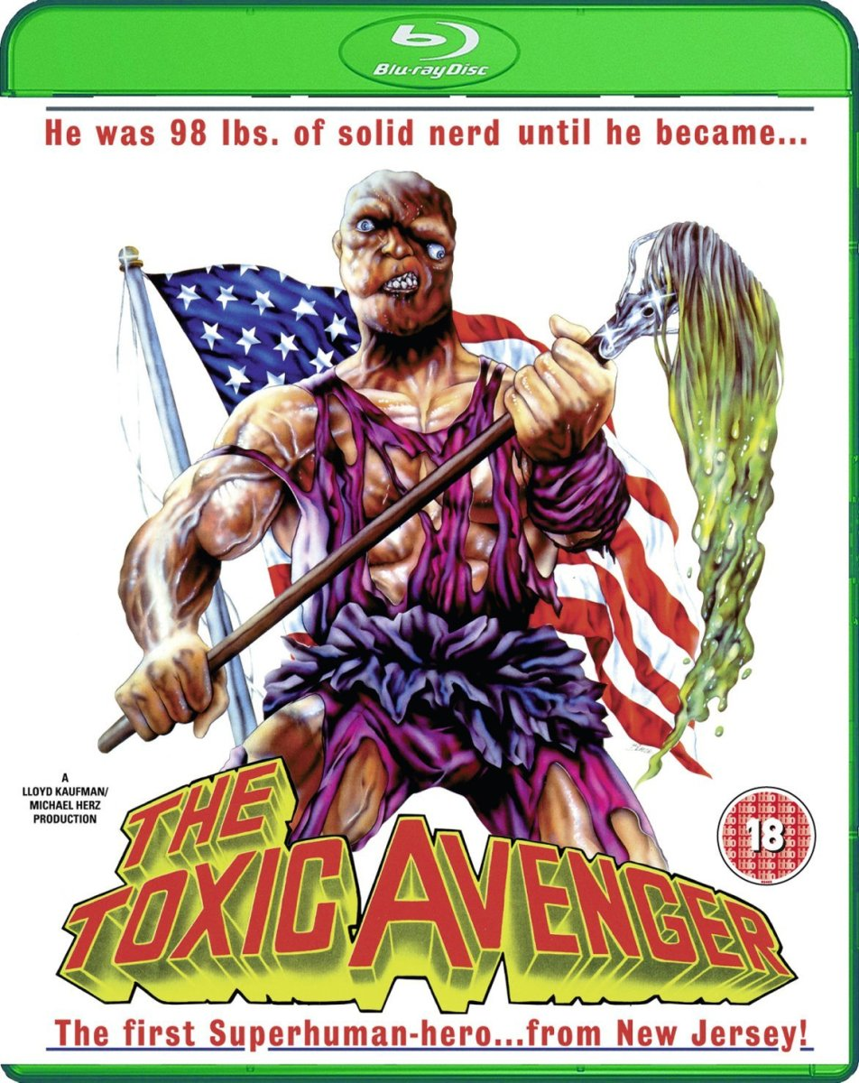 'The Toxic Avenger - Uncut Nuclear Edition' 88 Films Blu-ray Review