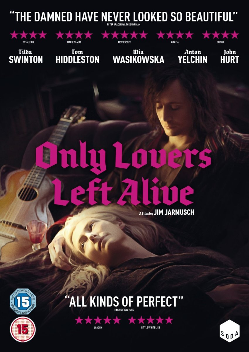 Only Lovers Left Alive DVD, Blu-ray & Steelbook Release Details