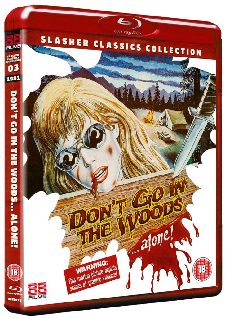 39 Don 39 T Go Into The Woods 39 88 Films Blu Ray Review