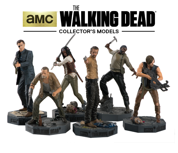 'The Walking Dead Collector's Models' Review