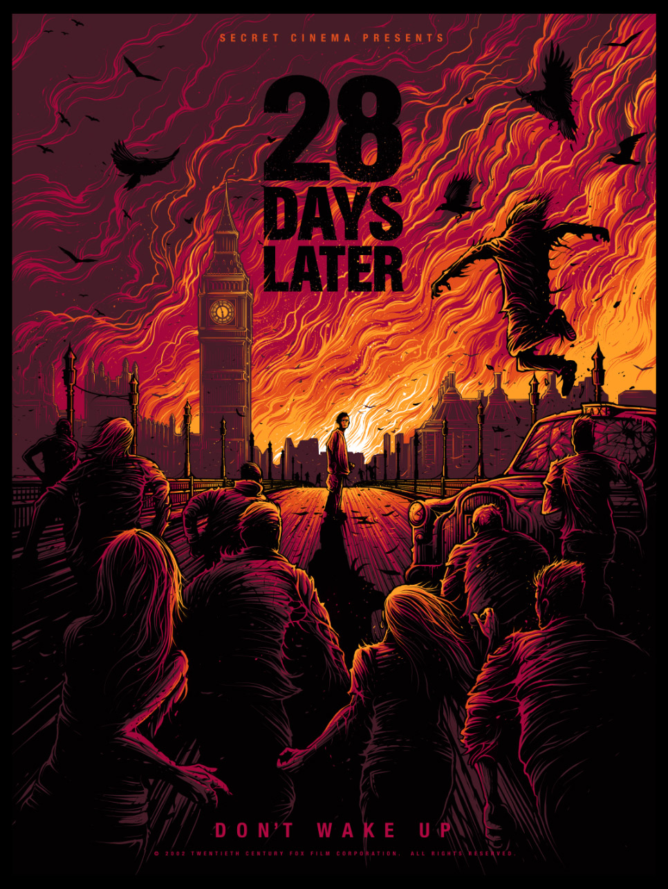Take a Look at Dan Mumford's Rage Fuelled 28 Days Later Print