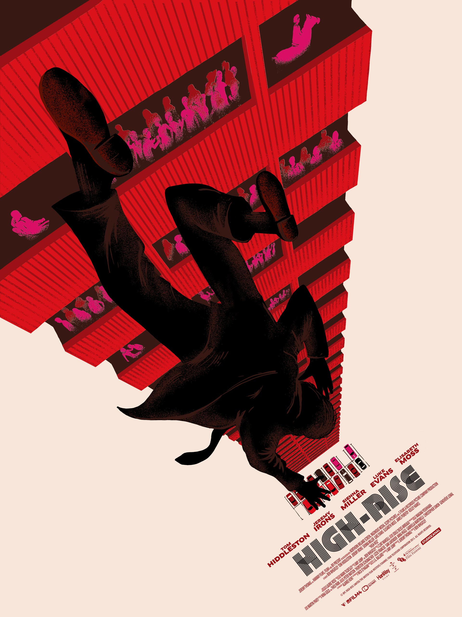 Vice Press Reveal New Raid 71 Artwork for Ben Wheatley's High-Rise