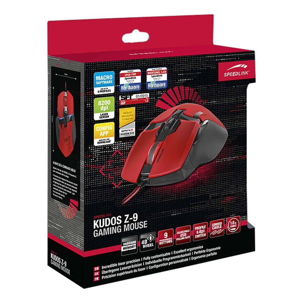 'SpeedLink Kudos Z-9 Gaming Mouse' Review