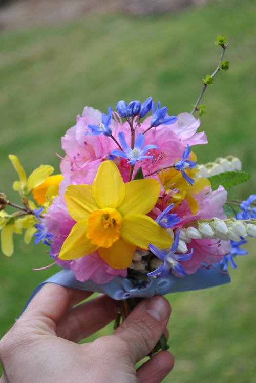 spring bouquet march 2012