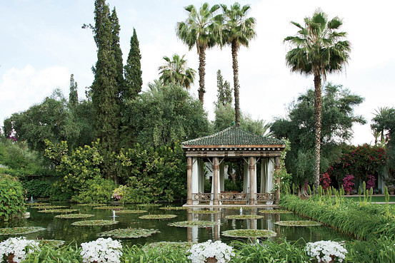 marella agnelli garden by madison cox in marrakech