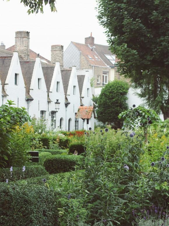 Godshuis Gardens in Belgium