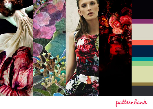 Patternbank Midnight Garden Print Trend A/W 13/14