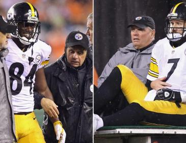 Antonio Brown is Still Out and Big Ben is Limited
