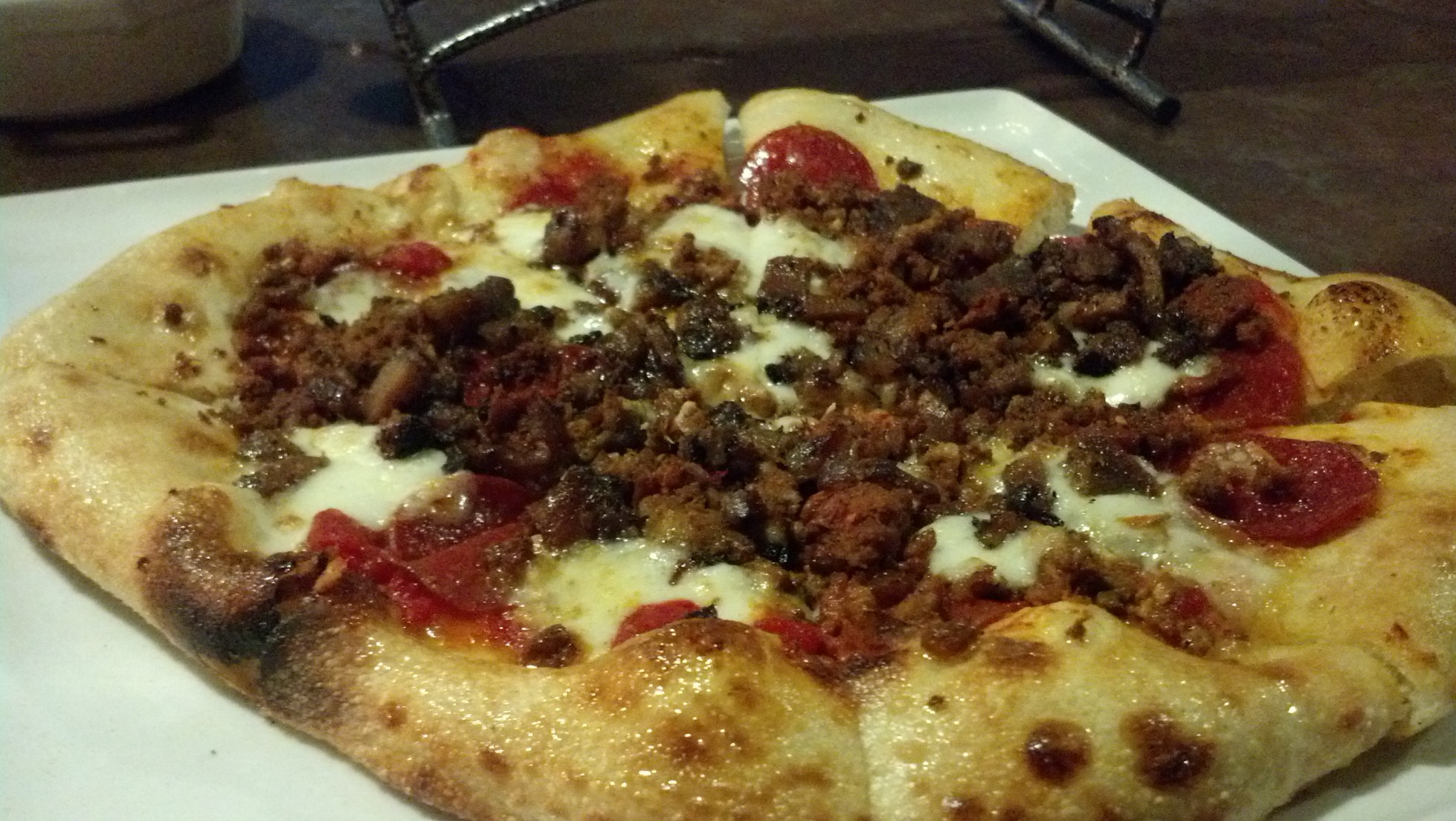 Carnivore Pizza from Proper Brick Oven Tap Room
