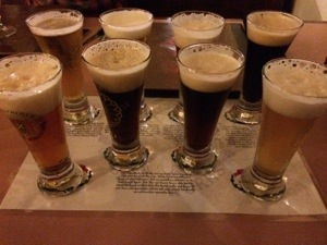 Church Brew Works Beer Sampler