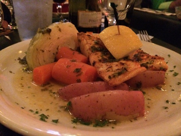 Baked Salmon Filet from Rileys Pour House