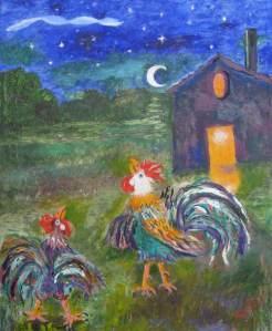 338 - Canto dei galli 35x50