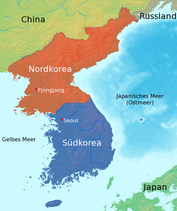 Map_korea_german_labels