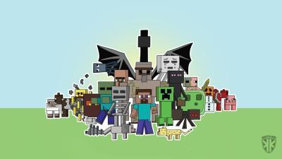 Minecraft Wallpapers HD download free | PixelsTalk.Net