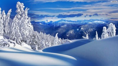 Winter Landscape Wallpaper Full HD   PixelsTalk.Net