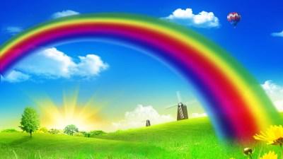 Free download Rainbow Backgrounds | PixelsTalk.Net