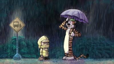 Calvin and Hobbes Wallpapers HD | PixelsTalk.Net