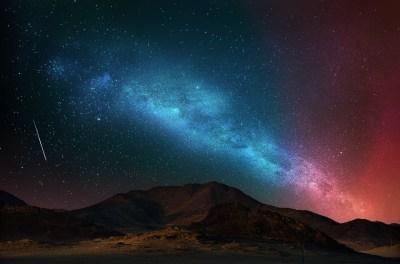 Free HD Starry Night Wallpapers | PixelsTalk.Net