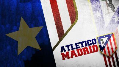 HD Atletico Madrid Logo Wallpaper | PixelsTalk.Net