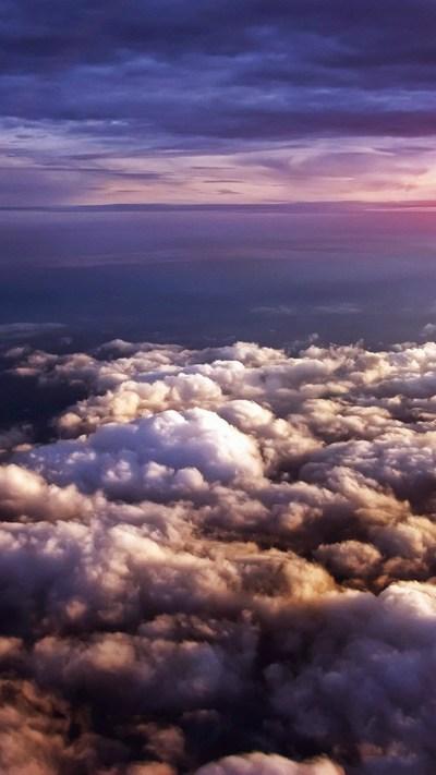 Clouds iPhone Wallpapers | PixelsTalk.Net