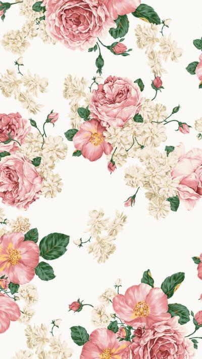 Floral Wallpaper iPhone | PixelsTalk.Net