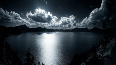 Crater Lake Background HD | PixelsTalk.Net