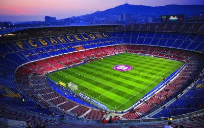 Camp Nou Stadium Wallpaper Download Free   PixelsTalk.Net