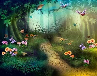 Enchanted Forest Backgrounds Free Download | PixelsTalk.Net