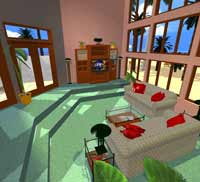 livingRoom200 Plan 3D Home Design for Homeowners