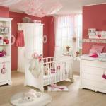 cuarto de bebé - niña