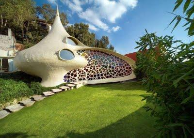 Bioarquitectura: casa Nautilus