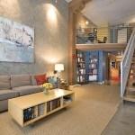 Decoración de lofts pequeños