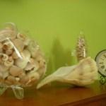 Accesorio decorativo de conchas marinas