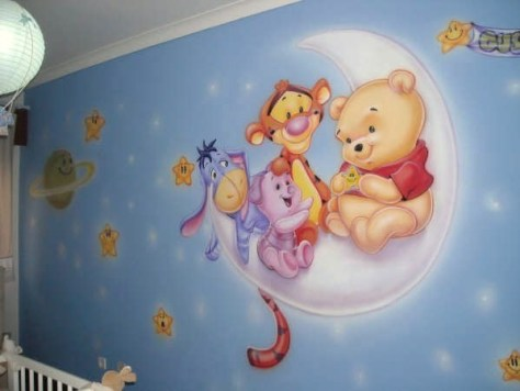 Empapelados infantiles, prácticos y divertidos